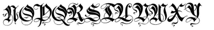 Innsbruck Initials Font UPPERCASE