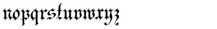 Innsbruck Initials Font LOWERCASE