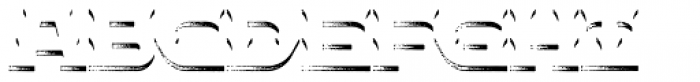 Insane Fear Rough Extrude Font LOWERCASE
