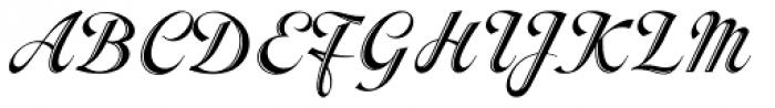 Inscription Font UPPERCASE