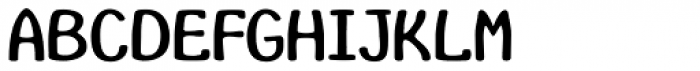 InsideLetters Plain Font LOWERCASE