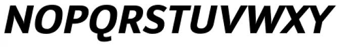 Insider Bold Italic Font UPPERCASE