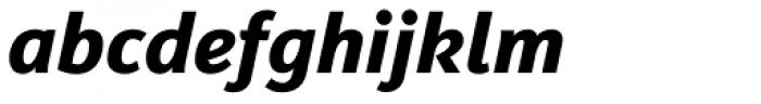 Insider Bold Italic Font LOWERCASE