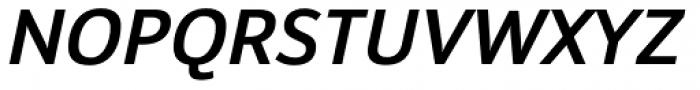 Insider Medium Italic Font UPPERCASE