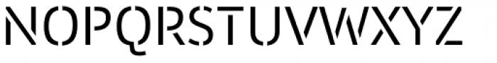 Insider Stencil Font UPPERCASE
