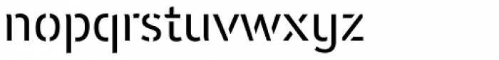 Insider Stencil Font LOWERCASE