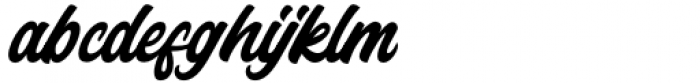 Instabread Regular Font LOWERCASE