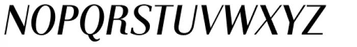 Instance PRO Light Bold Italic Font UPPERCASE