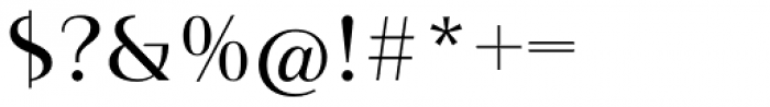 Instance PRO Regular Font OTHER CHARS