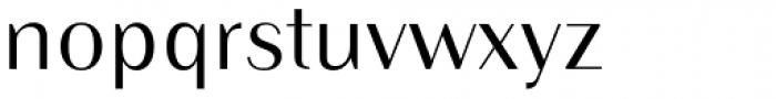 Instance PRO Regular Font LOWERCASE
