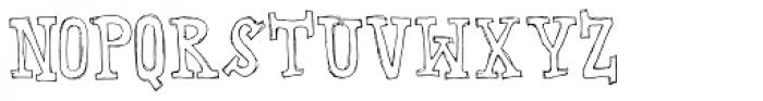 Instant Soup Font UPPERCASE