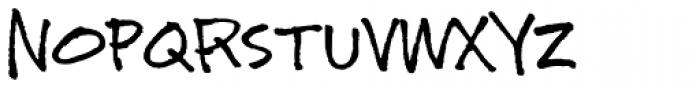 Instructor Font UPPERCASE