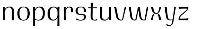Integra Light Font LOWERCASE