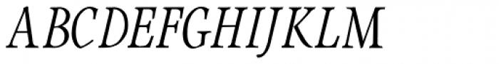 Integrity JY Lining 2 Medium Italic Font UPPERCASE