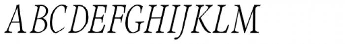 Integrity JY Lining Italic Font UPPERCASE