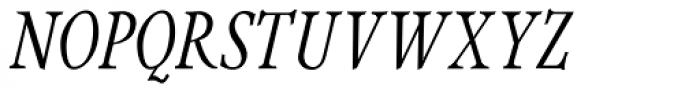 Integrity JY Pro Medium Italic Font UPPERCASE