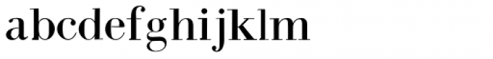 Intellecta Bodoned Font LOWERCASE