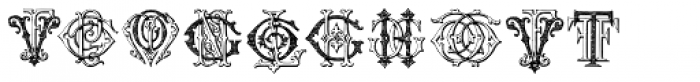 Intellecta Monograms FR-GW Font OTHER CHARS