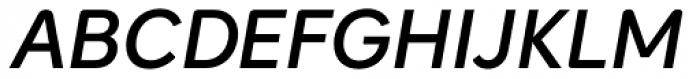 Intelo Semi Bold Italic Font UPPERCASE