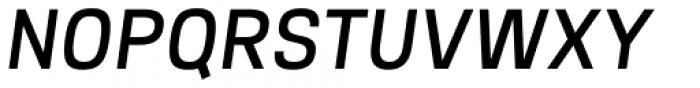 Intensa Bold Italic Font UPPERCASE