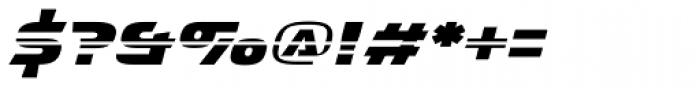 Interceptor Nitro Italic Font OTHER CHARS