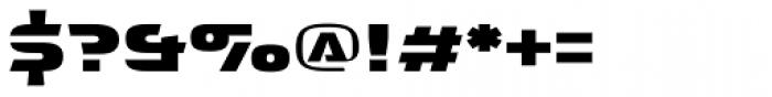 Interceptor Font OTHER CHARS