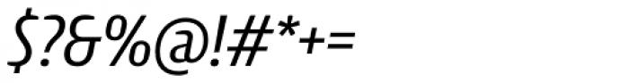 Intercom Italic Font OTHER CHARS