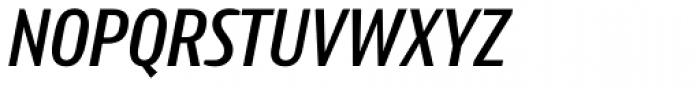 Intercom Medium Italic Font UPPERCASE