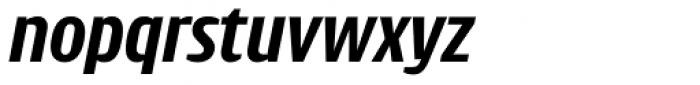 Intercom Semibold Italic Font LOWERCASE