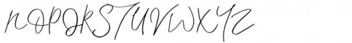 Interind Diary Regular Font UPPERCASE