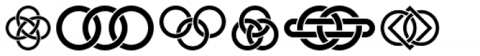 Interlaced Ornaments Font OTHER CHARS