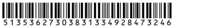 Interleave SB OCR Font UPPERCASE