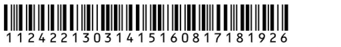 Interleave SB OCR Font LOWERCASE