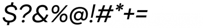 Internacional Alt Light Italic Font OTHER CHARS