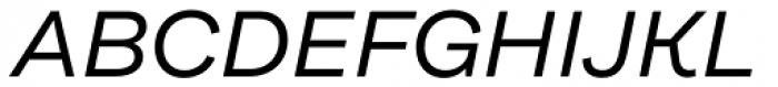 Internacional Alt Light Italic Font UPPERCASE