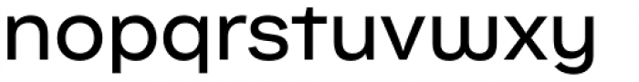 Internacional Alt Regular Font LOWERCASE