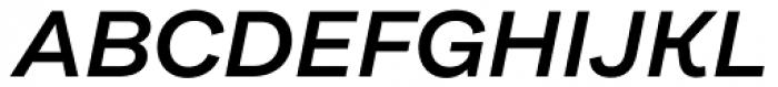 Internacional Alt Semi Bold Italic Font UPPERCASE