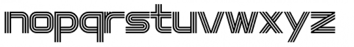 Intersection Medium Font LOWERCASE