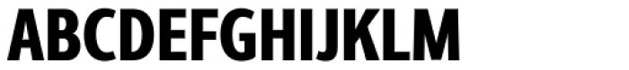 Interval Next Condensed Black Font UPPERCASE