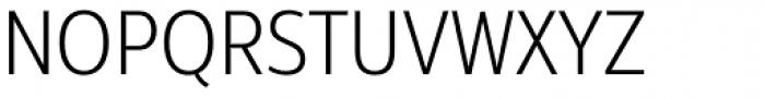 Interval Next Narrow Light Font UPPERCASE