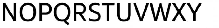 Interval Next Regular Font UPPERCASE