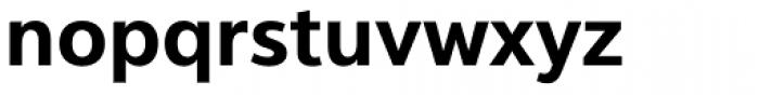 Interval Next Semi Bold Font LOWERCASE
