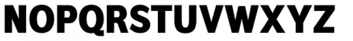 Interval Sans Pro Cond Black Font UPPERCASE