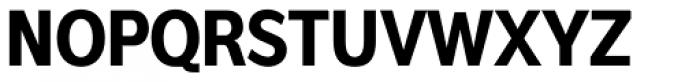 Interval Sans Pro Cond Bold Font UPPERCASE
