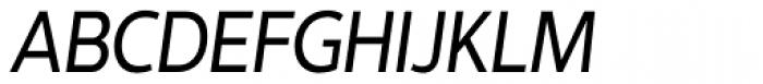 Interval Sans Pro Cond Italic Font UPPERCASE