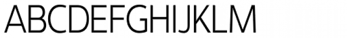 Interval Sans Pro Cond Light Font UPPERCASE