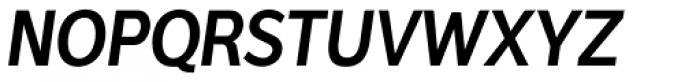 Interval Sans Pro Cond SemiBold Italic Font UPPERCASE