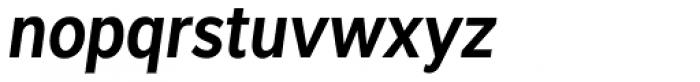 Interval Sans Pro Cond SemiBold Italic Font LOWERCASE