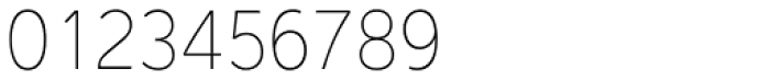 Interval Sans Pro Cond UltraLight Font OTHER CHARS