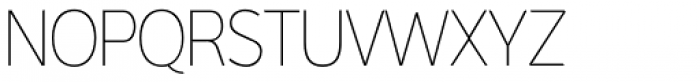 Interval Sans Pro Cond UltraLight Font UPPERCASE